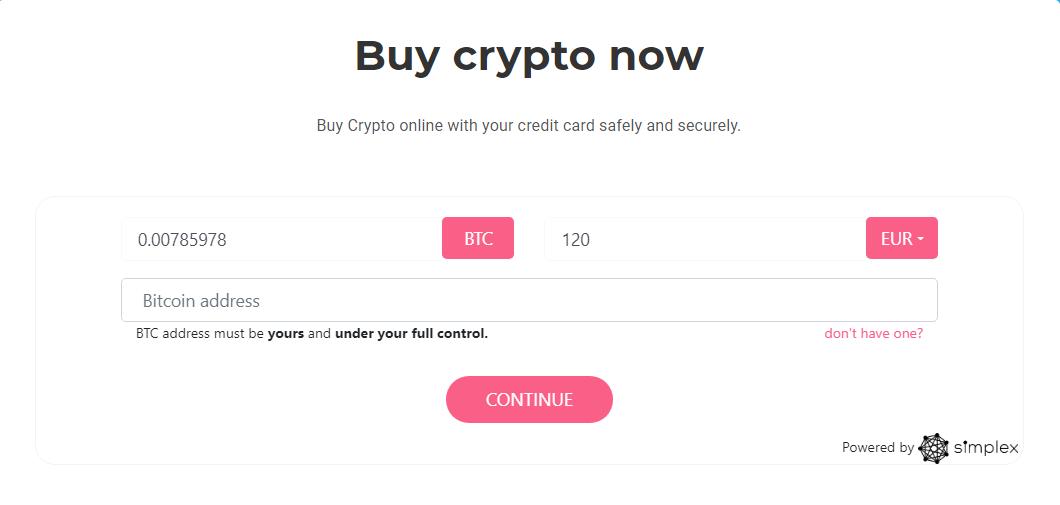 Comprar BTC en BitOFHeaven