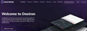 Daxiron home page